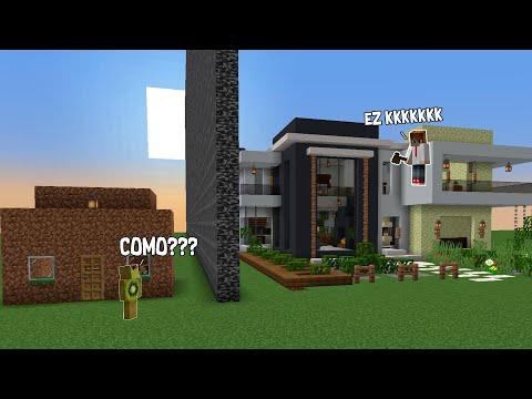trollei O KIWI com CONSTRUÇÃO PRONTA na BATALHA DE CONSTRUÇÃO do minecraft