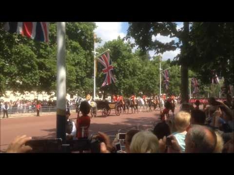 Massed bands of the Guards: Trooping the Colour 2017