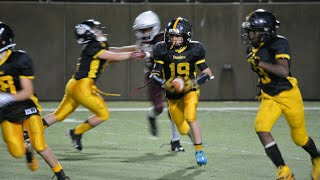 Gavin Goodrich 12 yr old Class of 2021 - 6th Grade Steelers Football Highlights - Damn Good!