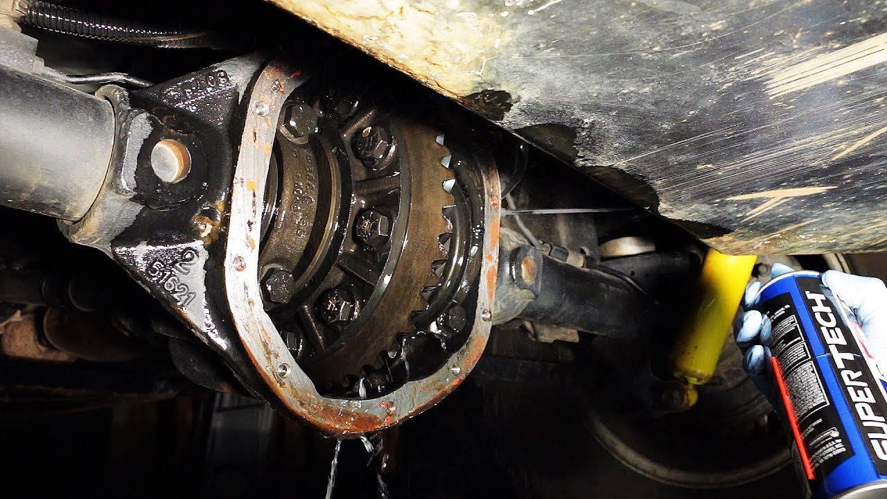 Changing Your Jeep's Differential Fluid