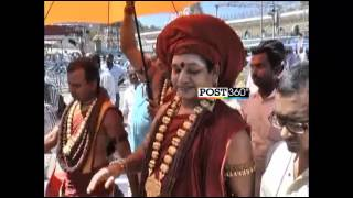 Swami Nityananda Visits Tirumala Temple In New Look