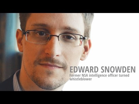 Edward Snowden latest interview - democray an civil rights? Fake News?