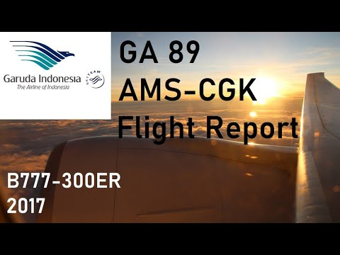 ✈️ FLIGHT REPORT ✈️ Garuda Indonesia - Amsterdam to Jakarta - Boeing 777-300ER
