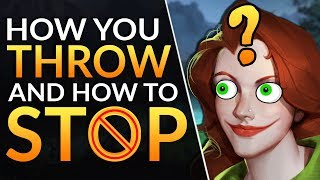 #1 SECRET to NEVER LOSE A LEAD: Pro tips to WIN more and STOP THROWING | Dota 2 Ranked Guide