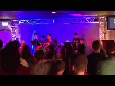 The Outsiders band at FUMC Maumelle