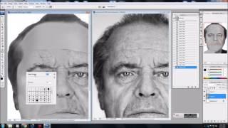 ICanDraw Jack Nicholson Speed Drawing
