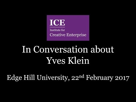 ICE In Conversation about Yves Klein
