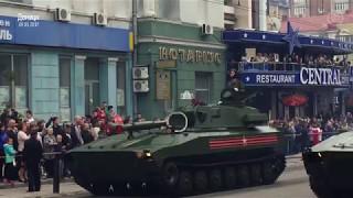 9 мая в Донецке  Парад военной техники и «Бессмертный полк»