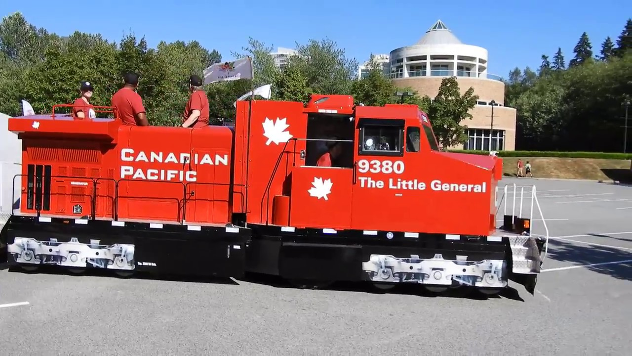 Cps The Little General Mini Train At Cp Canada 150 Train