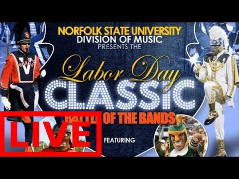 Norfolk vs Virginia State BOTB 2018 NSU vs VSU Battle of the Bands