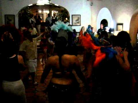 Managers Dance at Windjammer Landing, St. Lucia
