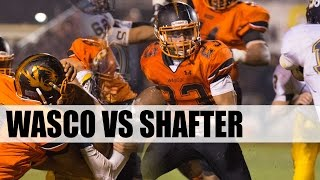 2014 Wasco Shafter Varsity Football Game