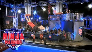 Ninja run: Adam Matusz | Australian Ninja Warrior 2018