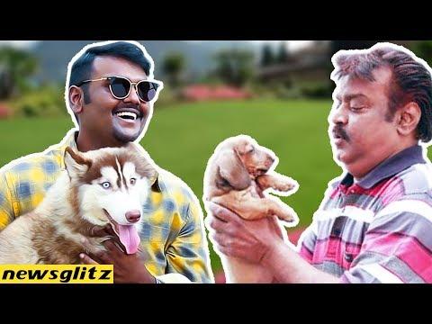 BEST ! : Vijayakanth Son Vijay Prabhakaran Special Interview | LOVE FOR DOGS