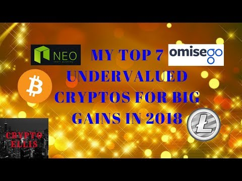 TOP 7 UNDERVALUED CRYPTOS