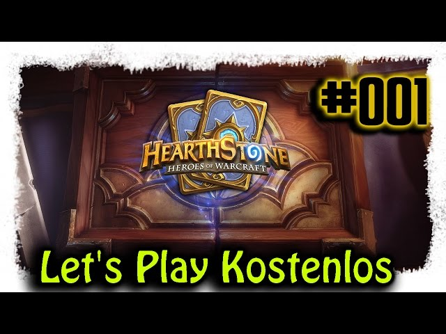 Hearthstone ▼001▼ Kostenlos zum Top Deck [Lets Play | Live | deutsch | Gameplay | Stream]