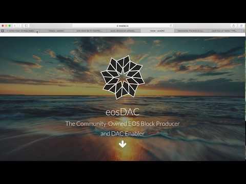 EOS Airdrop | EOS Dawn 3.0 release | EOSIO