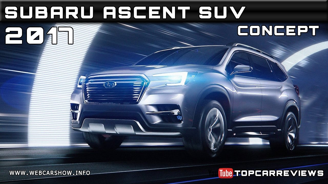 2018 subaru ascent specs. fine subaru 2017 subaru ascent suv concept review rendered price specs release date on 2018 subaru ascent specs
