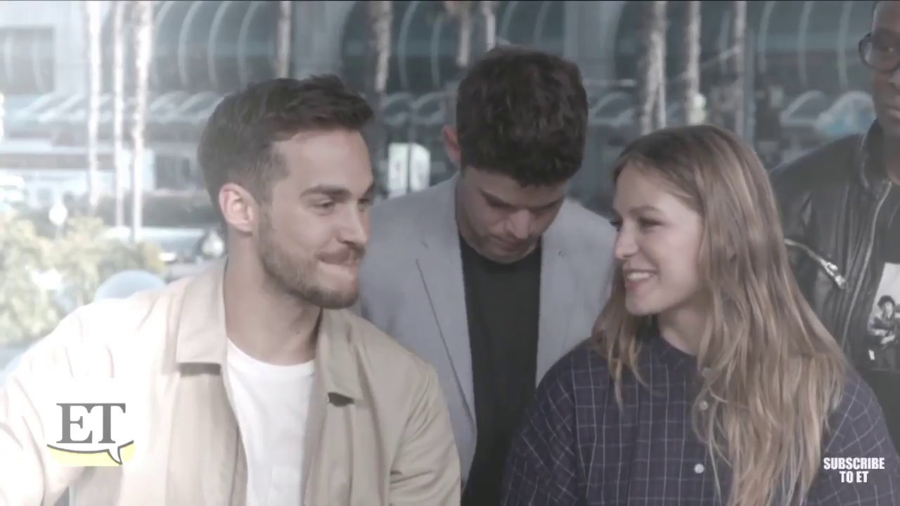 Melissa Benoist And Chris Wood Melwood Tenerife Sea Youtube