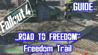 fallout 4 guide freedom trail road to freedom the molecular level