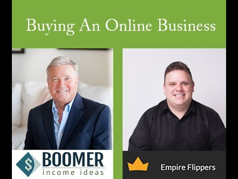 Boomers thinking of buying a successful online business