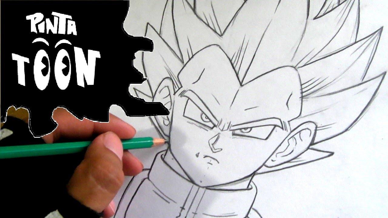 Dragon Ball Gogeta Cuerpo Completo Para Dibujar: Como Dibujar A Vegeta Ssj Dios Azul-DE VERDAD APRENDES