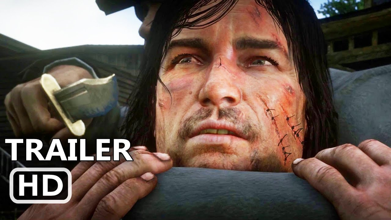 Download RED DEAD REDEMPTION 2 Official Trailer # 3 (NEW, 2018) John Marston, Rockstar Game HD