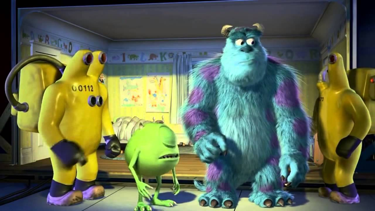 Monsters Inc All Roz Scenes!