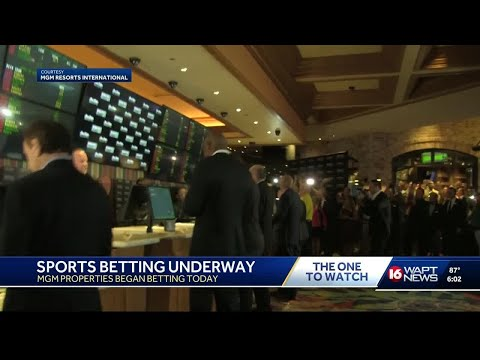 Sports Betting Underway At 2 Mississippi Casinos