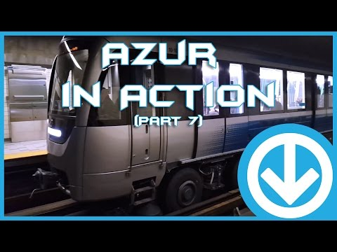 New Montreal's Metro Azur in action at various station (Part 7)
