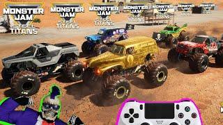 Monster Jam Video Game Steel Titans DLC Monster Trucks Racing Championship