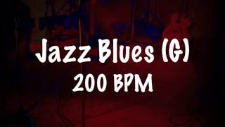 ♫ Jazz Blues Backing Track in G Major - Fast Swing ♫