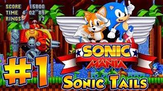 ABM: Sonic Mania Gameplay!! Sonic & Tails!! Walkthrough 1 HD