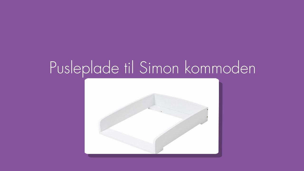 Fabriksnye Hoppekids Pusleplade til Simon kommoden - Babyshower.dk - YouTube ZG-31