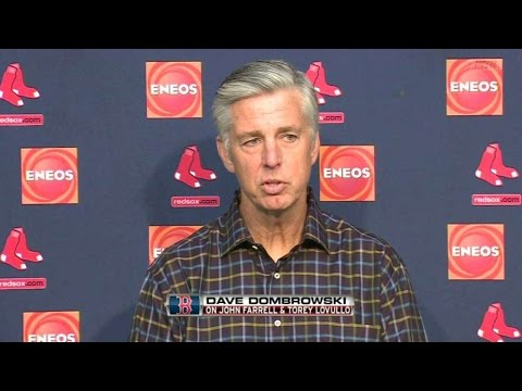 BOS@CLE: Dombrowski on plans for Farrell and Lovullo