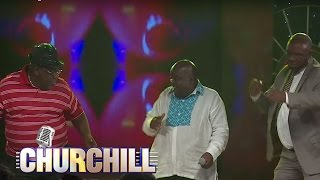 Papa Shirandula gets down on Churchill Show