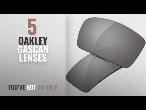 9b4a5d5d913b Top 10 Oakley Gascan Lenses [ Winter 2018 ]: Oakley Gascan Replacement  Lenses - Grey - YouTube