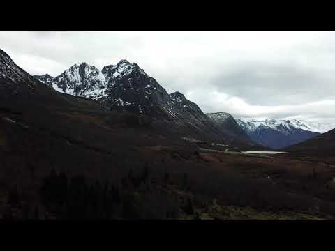Sunnmørske fjell og natur med dji mavic pro