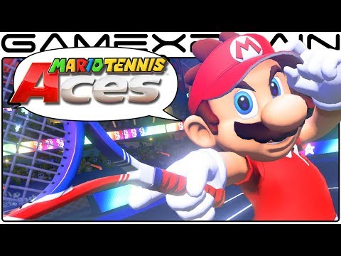 Mario Tennis Aces - Reveal Trailer DISCUSSION