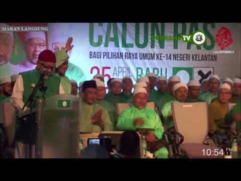 Pengisytiharan calon-calon Pengkalan Chepa, Kijang, Chempaka dan Panchor