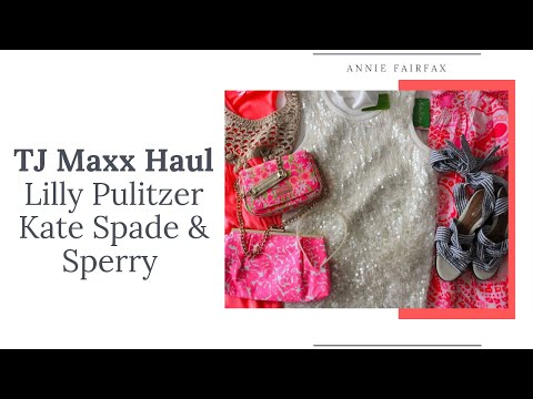 d978e534923 TJ Maxx Haul: Lilly Pulitzer, Kate Spade, Sperry & More!