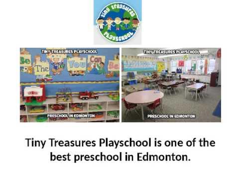 Preschool in Edmonton  - Tiny Treasures Playschool