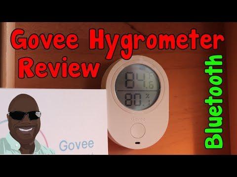 Govee Bluetooth Hygrometer Review | LeeMack912