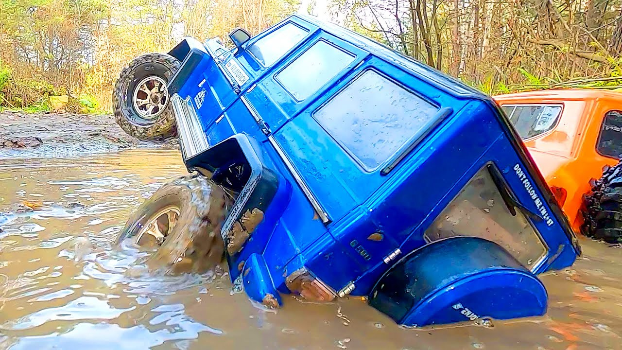 Mercedes G63 and GAZ 66 MUD Racing Extreme