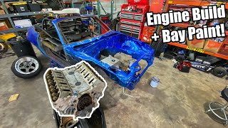homepage tile video photo for LS Miata Build Part 3! Engine Pull From Corvette, Engine Build and Bay Painting!