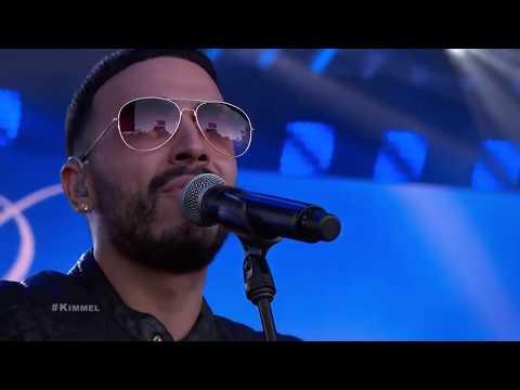 Luis Figueroa - Promise  with Romeo Santos on Jimmy Kimmel Live