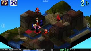 Final Fantasy Tactics The War of the Lions Speedrun Any% 3:47:50