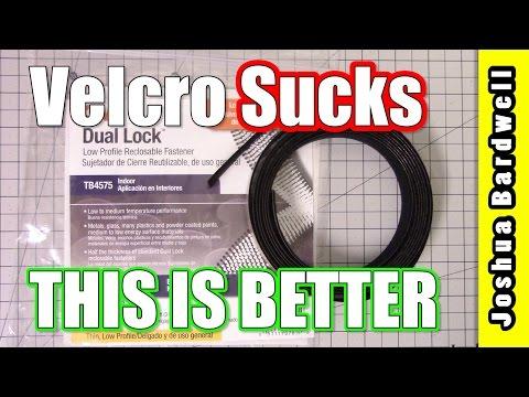 3M Dual Lock Fastener | VELCRO SUCKS THIS IS BETTER