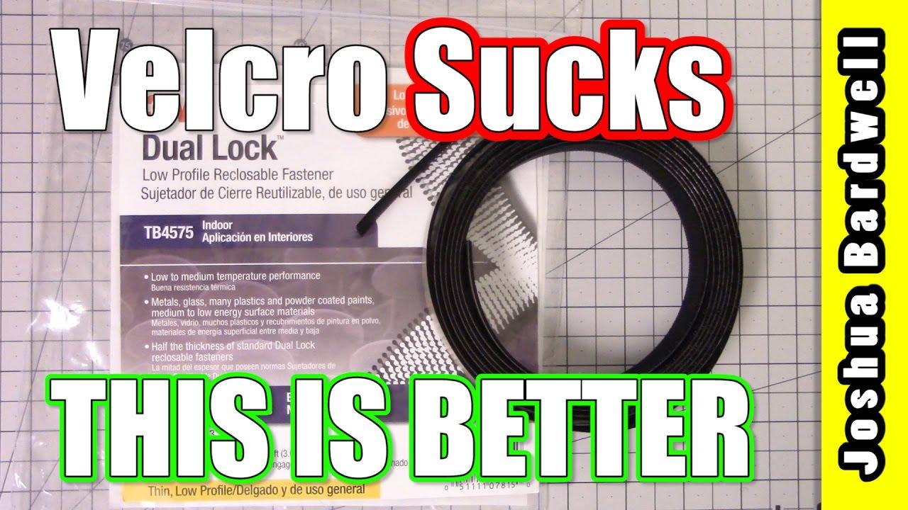 3M Dual Lock Fastener | VELCRO SUCKS THIS IS BETTER  - Buy American