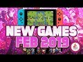 Nintendo Switch February 2019 New Switch Games We're MOST EXCITED For!